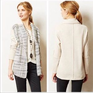 Anthropologie Dolan Twinkled Tweed Cardigan